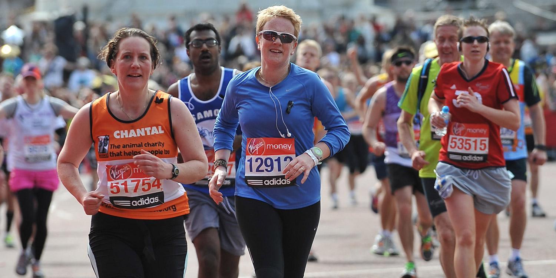 Brooke runner at the London Marathon