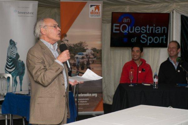Alastair Stewart hosted EQuestrian of Sport