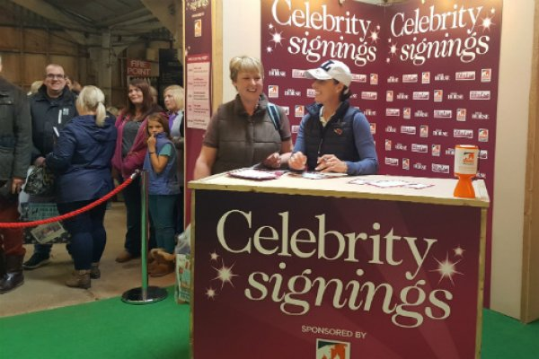 Charlotte Dujardin meets fans at Your Horse Live