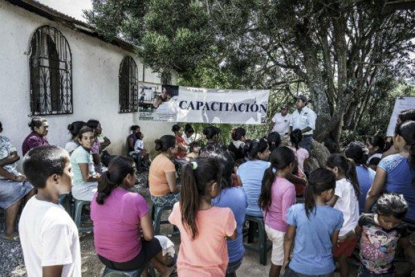 Community training in Guatemala