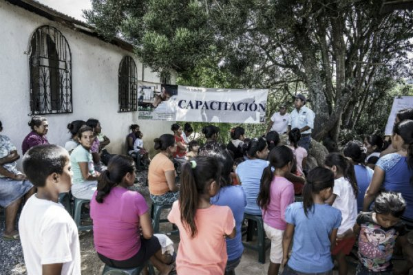 Community training in Guatemala