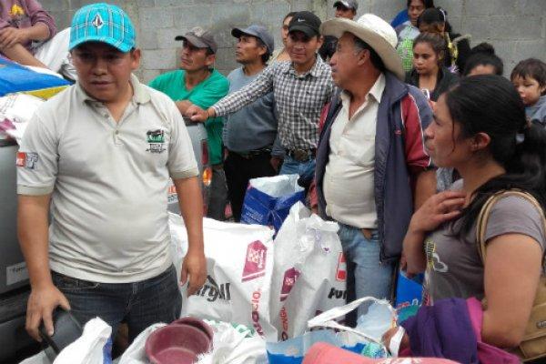 ESAP distributes aid in Guatemala