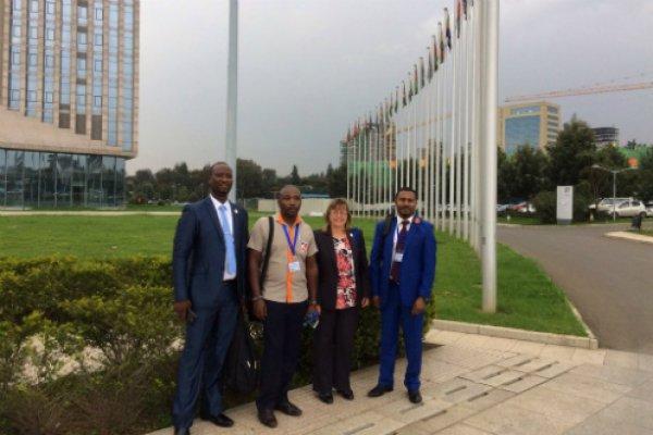 Brooke CEO Petra visits Ethiopia