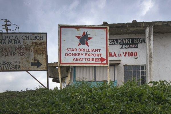Star Brilliant Abattoir sign