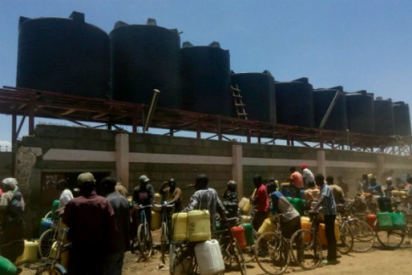 Water pumps funded by Brooke during Kenya drought