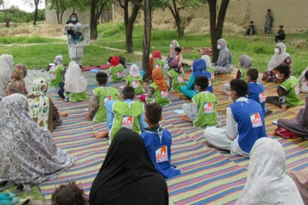 Afghan communities advice session