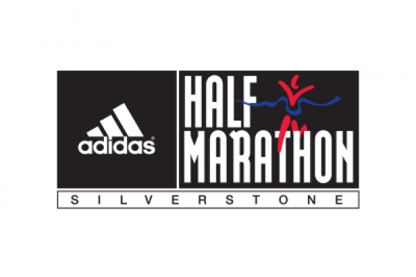 adidas Silverstone half marathon logo