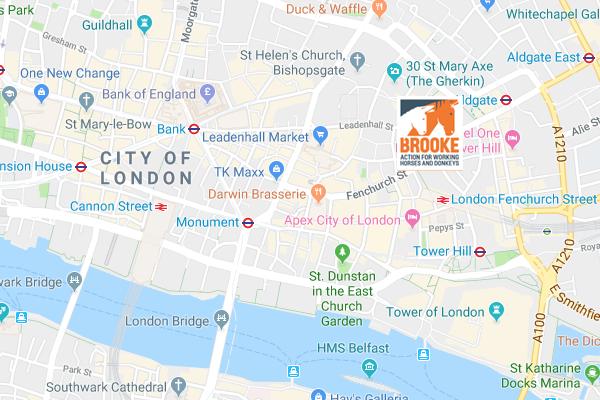 Brooke UK office on Google Maps