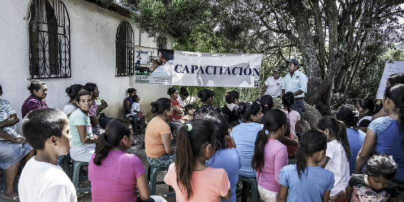 Community session, Guatemala