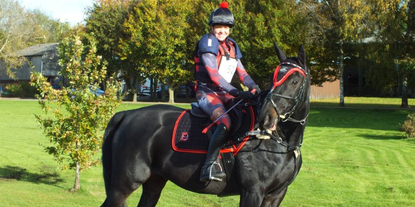 Jen Olivier and her horse Rocco