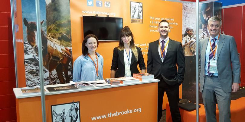 The Corporate Partnerships Team at BETA International
