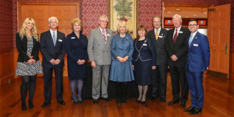 Her Royal Highness The Duchess of Cornwall and guests at the launch of Brooke USA