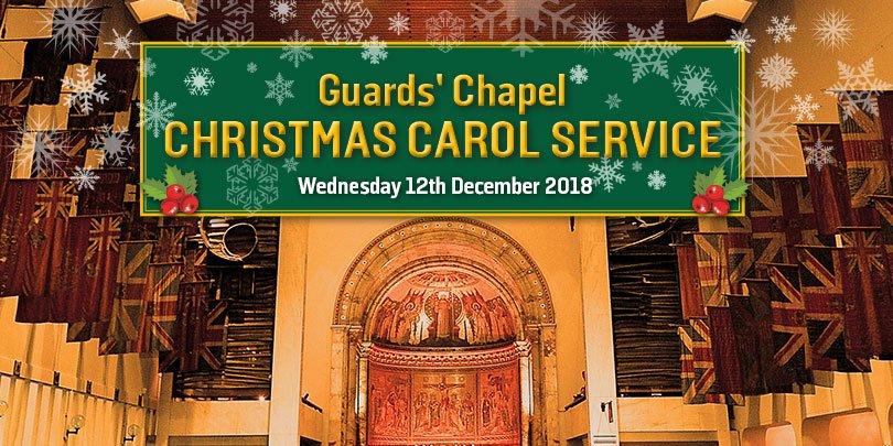 Guards' Chapel Christmas Carol Service