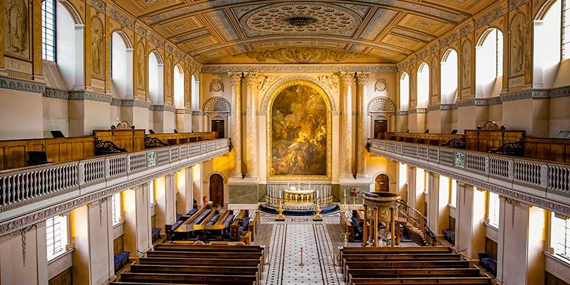 Old Royal Naval College Chapel