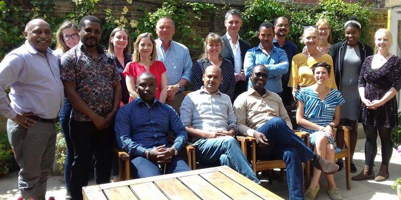 Brooke Global External Affairs Team meeting in 2019
