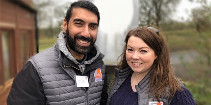 Joey and Harriet from the Legacy team