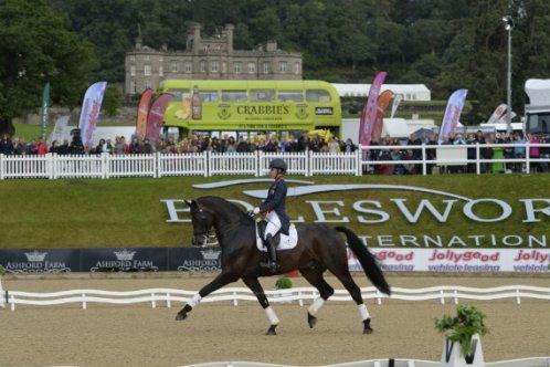 Charlotte Dujardin riding at Bolesworth