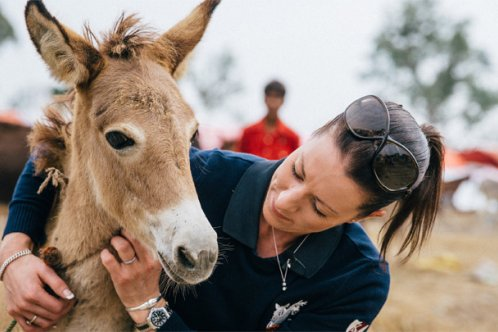 Charlotte Dujardin's photo diary from India