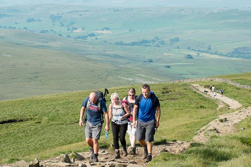 Yorkshire Three Peaks weekend
