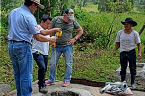 Installing water pump in Guatemala