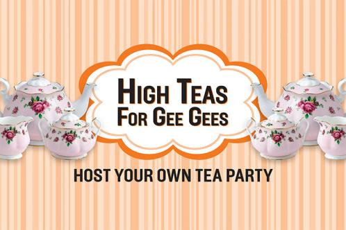 High Teas for Gee Gees banner