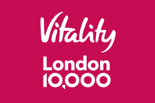 London 10,000 run logo