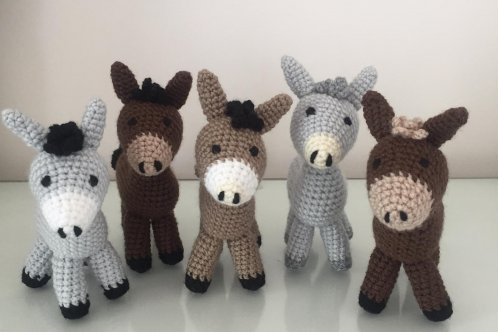 crafted donkeys