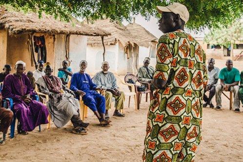 Senegal meeting