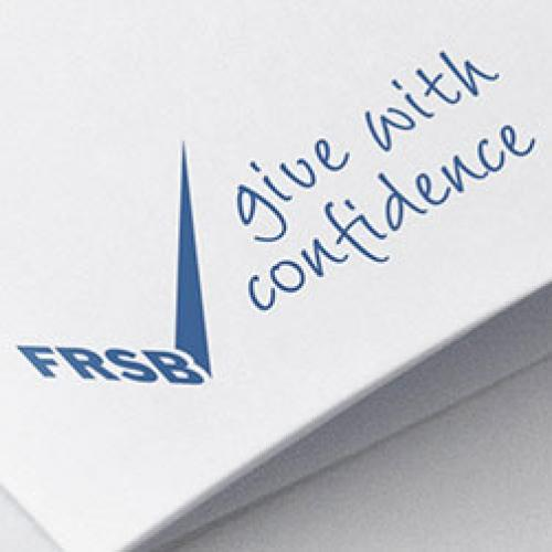 FRSB - Give with confidence logo