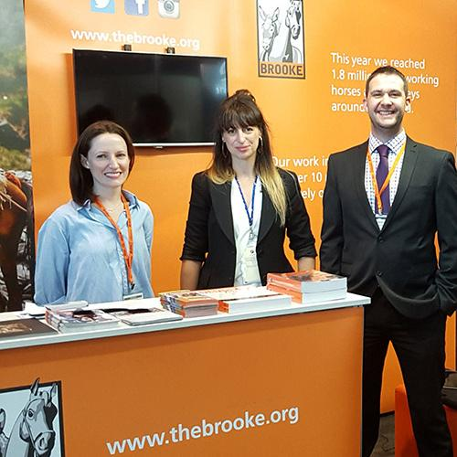 The Corporate Partnerships Team at British Equine Veterinary Association Congress, 2015