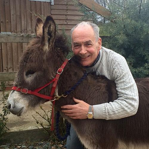 Alastair Stewart and Hobnob