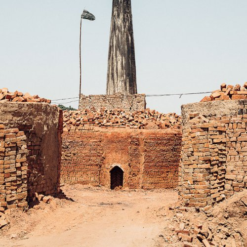 Pakistan brick kiln