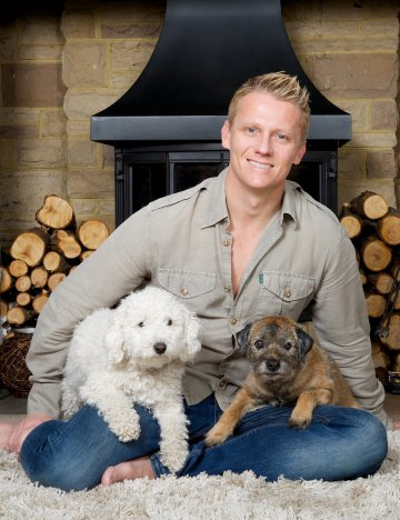 Scott Miller and dogs