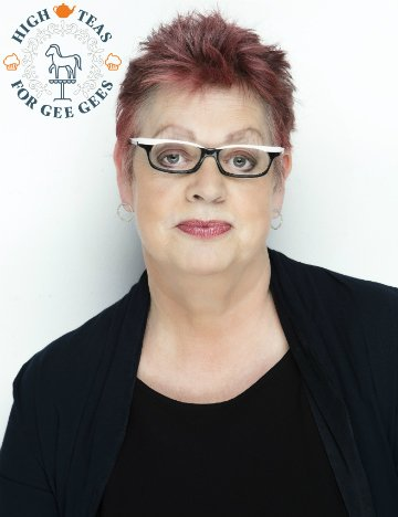 Jo Brand supports Brooke's High Teas For Gee Gees campaign